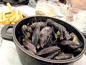 moules and fries